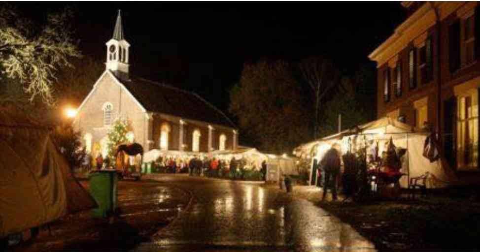 Midwinterhoornblazen Ugchelen 16 Dec Kerstmarkt Schaarsbergen